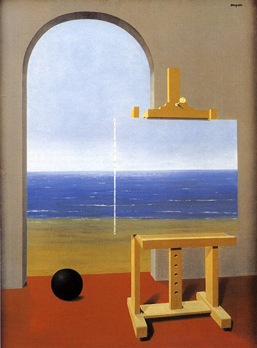 La condizione umana II Magritte