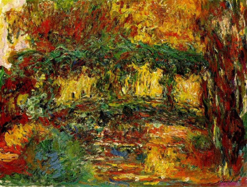 Monet, Ponte giapponese