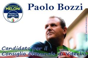 Paolo Bozzi - Candidato al Consiglio Comunale di Viterbo