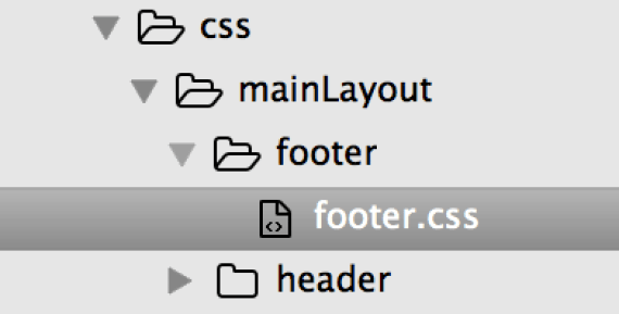 Footer CSS ReactJS