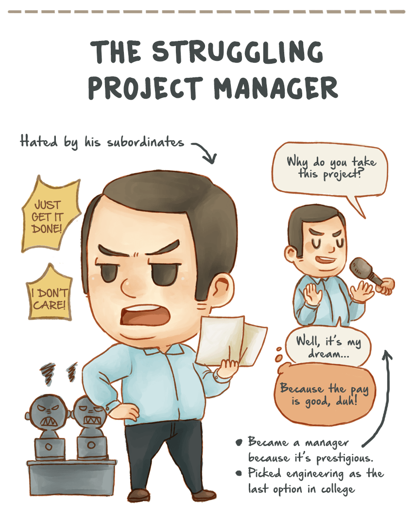 project manager scarso