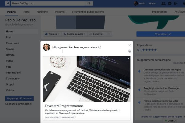 Client-side rendering e Facebook Preview
