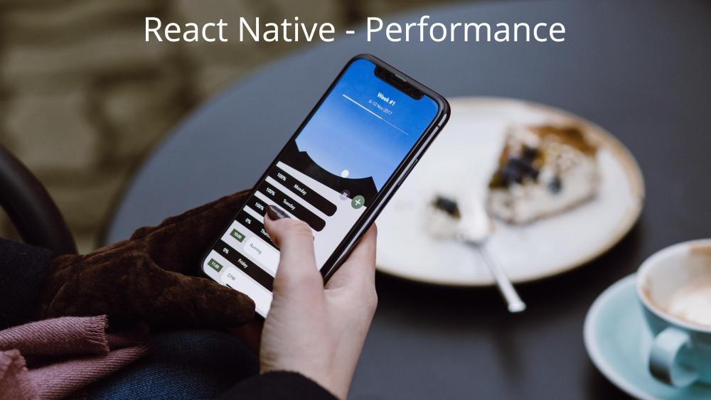 come migliorare le performance di un'app React Native