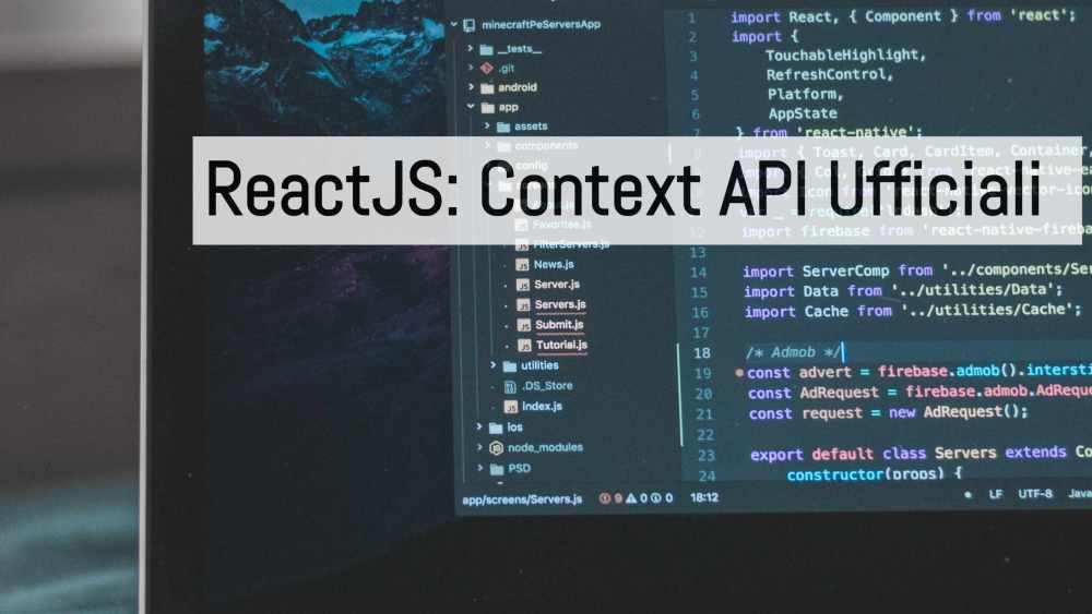 context API ufficiali