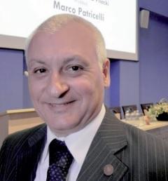 Il partigiano americano di Patricelli. Nella foto l'autore