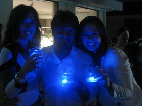 Biricchiere - bicchiere luminoso