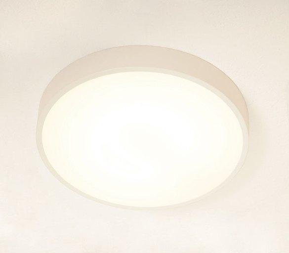 tamburello - lampada a soffitto