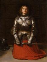 John Everett Millais, Giovanna d'Arco, 1865