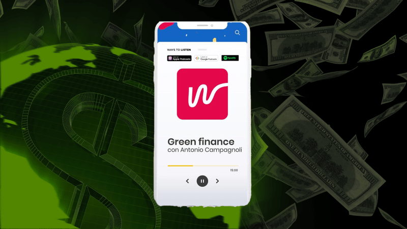 ♻️ Green Finance ♻️ in Podcast 🎙