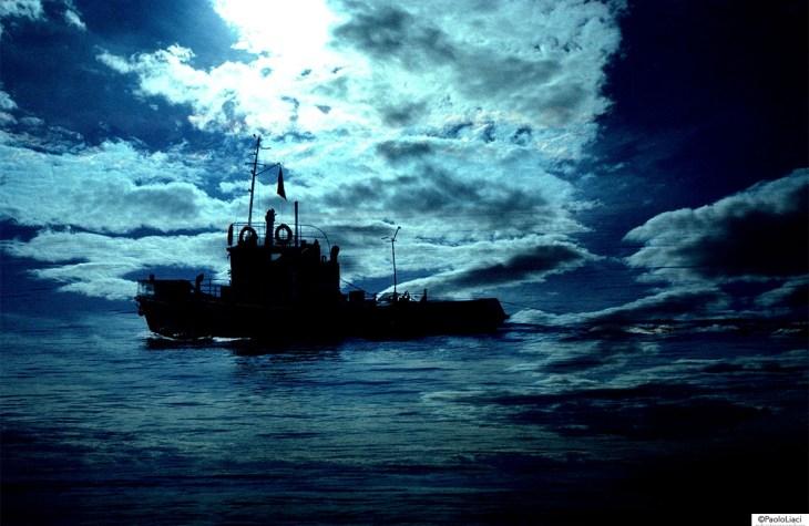 Rimorchiatore al Lago Baikal