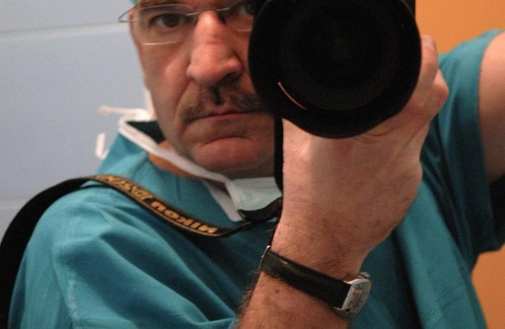 il fotografo in sala operatoria
