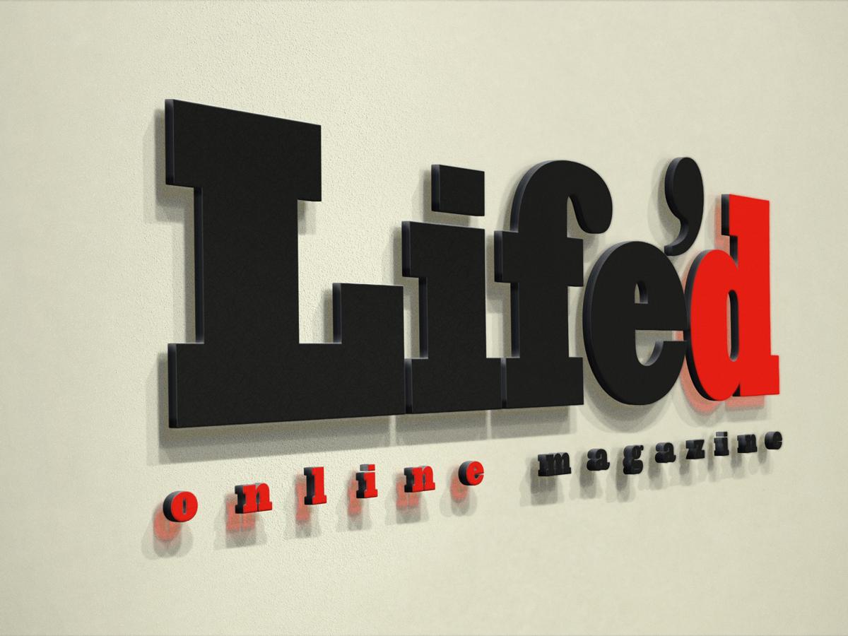 Lifed Logo Mockup