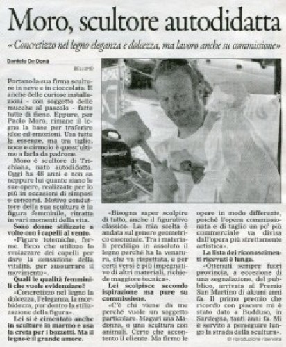 Paolo Moro Articolo uscito sul Gazzettino 247x300