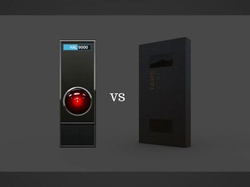 La gara di barzellette tra HAL 9000 e TARS
