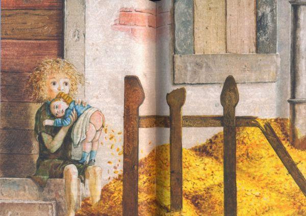 Un'illustrazione di Fabian Negrin al volume di Giuseppe Pitrè.