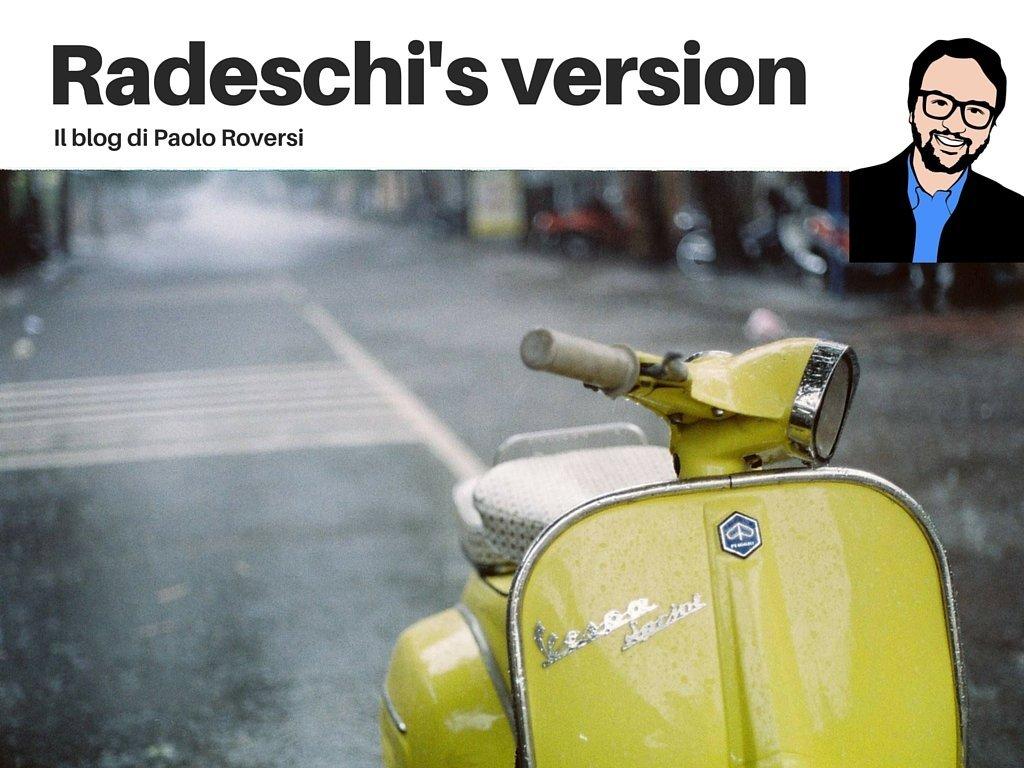 Radeschi's version - il blog di Paolo Roversi