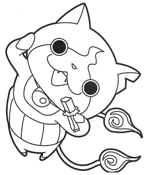 coloriages à imprimer des personnages fascinants de yokai