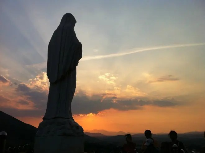 The history of the apparitions of Medjugorje