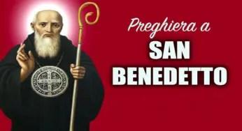 Preghiera a San Benedetto da Norcia per chiedere una grazia oggi ...