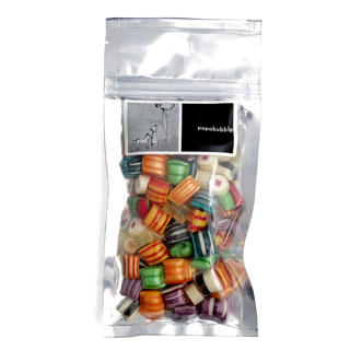 pillow fight candy in a 140gr bag