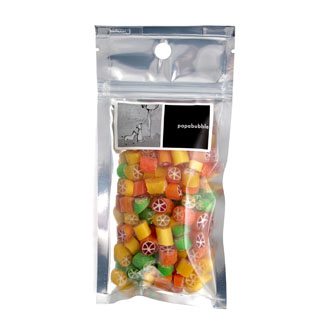 citrus candy in a 140gr bag