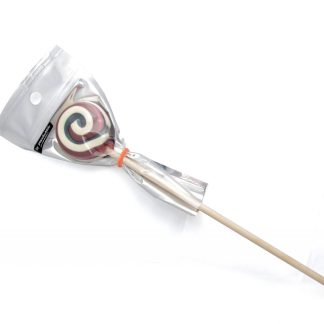 round lollipop in a bag