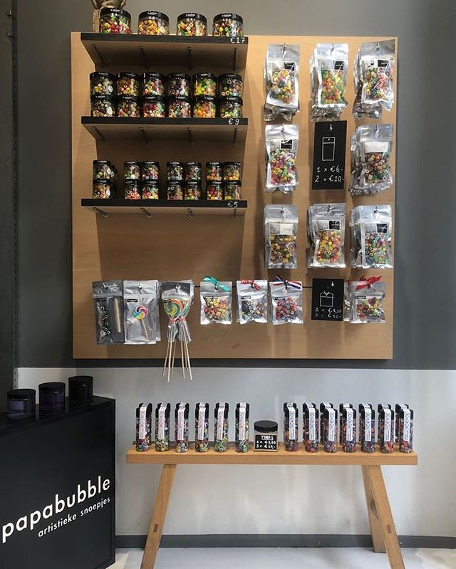 Good morning! From 12.00 all these candies are waiting for you in our store, see you there #haarlemmerdijk #70 #fullagain #candies #waitingforahome