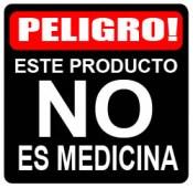 este producto no es medicina