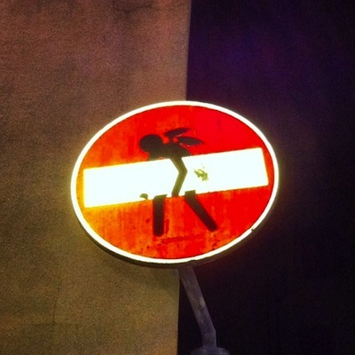 курьез: Italy street art 1