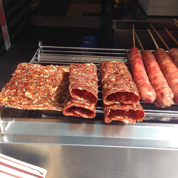 Тонкое жареное мясо