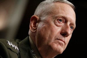 U.S. Central Command Commander-nominee Marine Corps Gen. James Mattis testifies on Capitol Hill in Washington, Tuesday, July 27, 2010, before the Senate Armed Services Committee hearing on his nomination. (AP Photo/Alex Brandon)