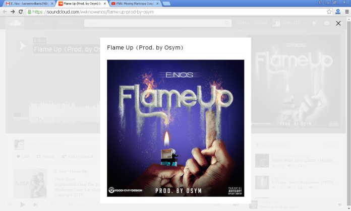 E Nos - Flame Up Produced By Osym