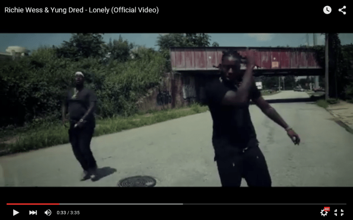 Video: Richie Wess And Yung Dred - Lonely