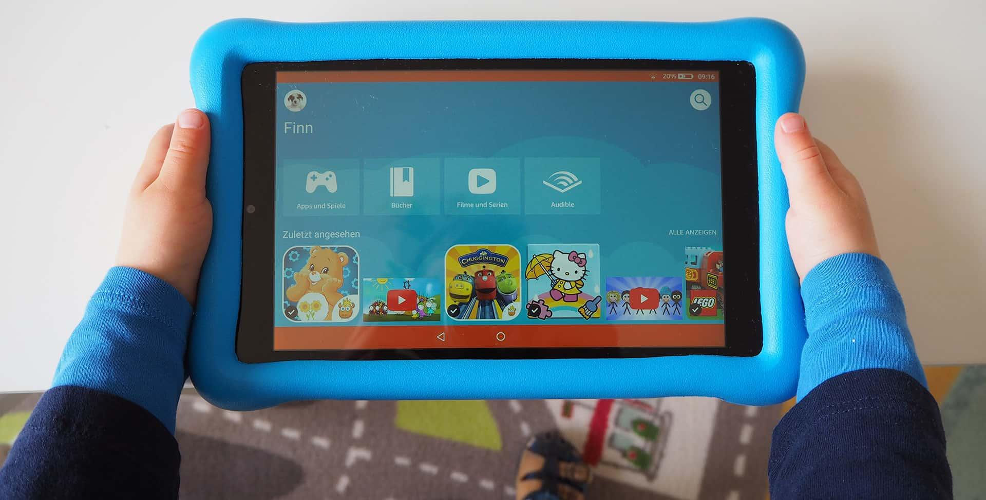 Amazon Fire Hd 8 Kids Edition Im Test Tablet Fur Kinder ツ Papatestet
