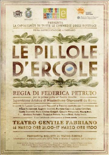 Manifesto Locandina Le pillole d'Ercole