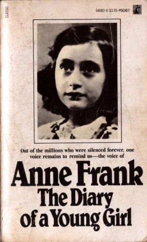 Image result for anne frank book cover