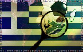 Papel de parede 'Copa do Mundo - Grécia'