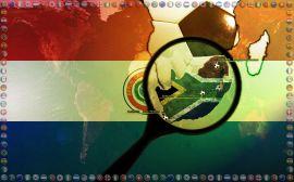 Papel de parede 'Copa do Mundo - Paraguay'