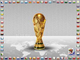 Papel de parede 'Copa do Mundo - Taça'