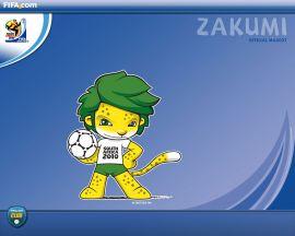 Papel de parede 'Copa do Mundo - Mascote'