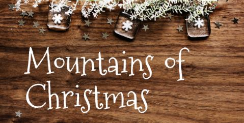 typo mountains of christmas, typo de noël, christmas font