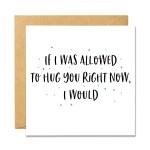 I Wish I Could Hug You