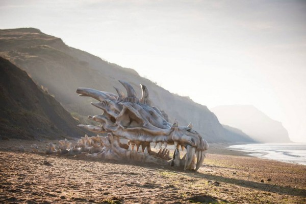 squelette skull ambient marketing dragon game of thrones season 3 england blindbox 2