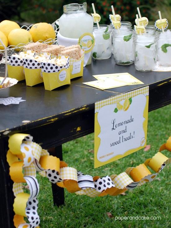 lemonade stand signage