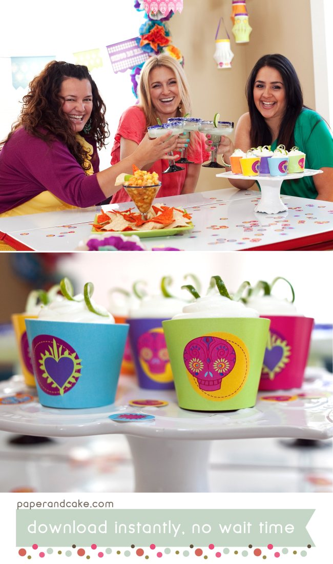 Fiesta Printable Party and Tablescape