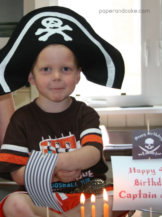 pirate printable birthday party