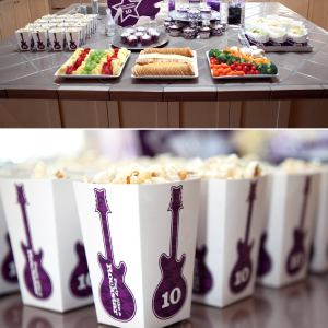 RockStar Printable Birthday Party