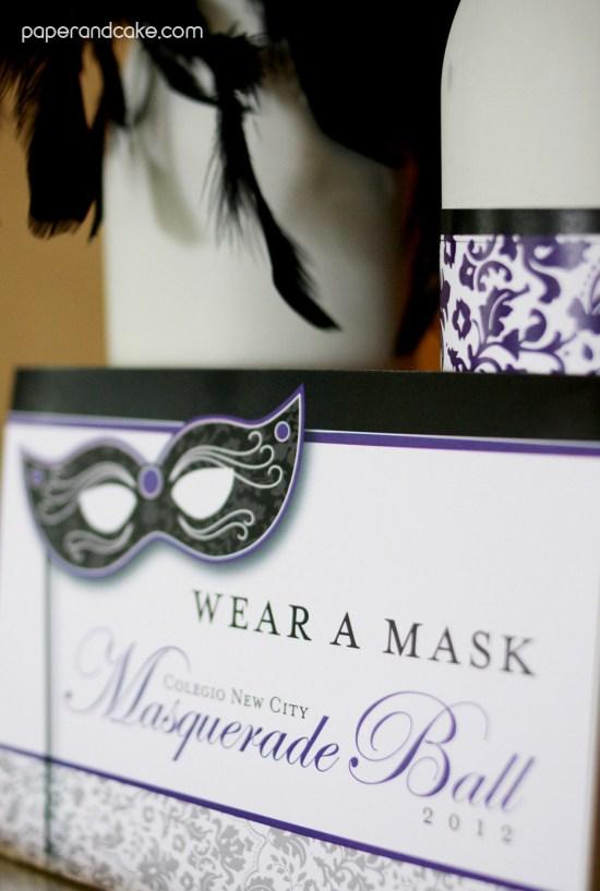 a masquerade prom