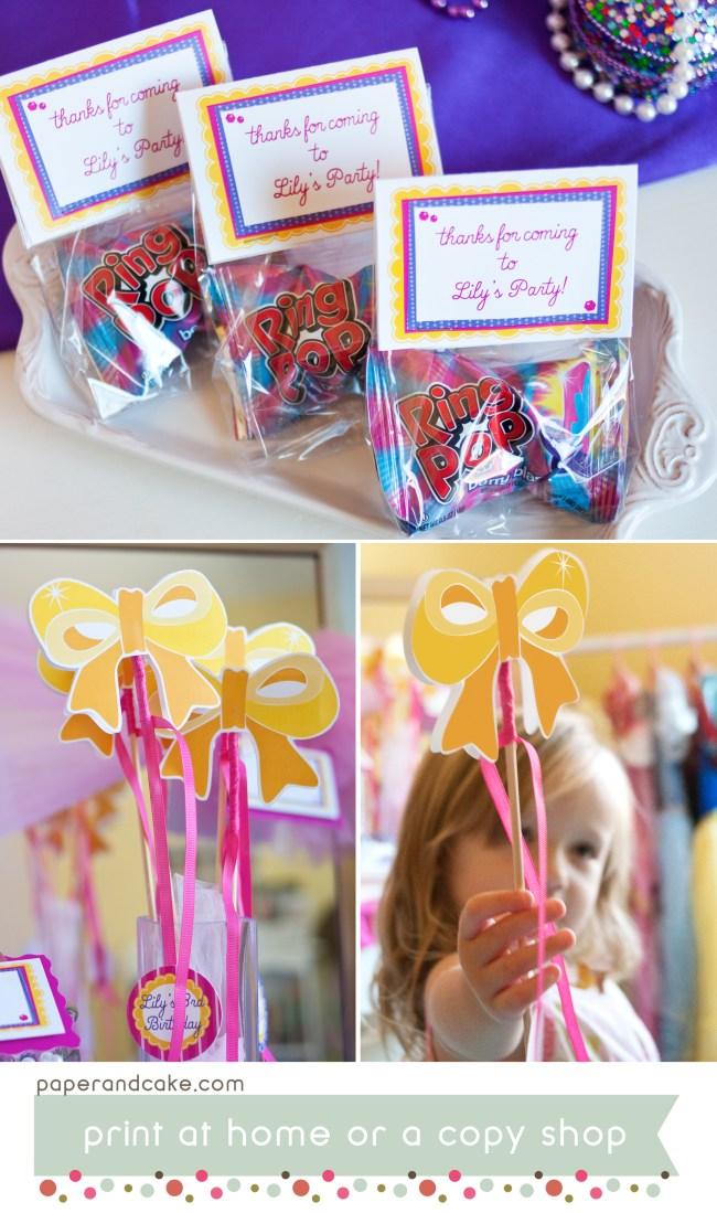 Princess Printable Birthday Party