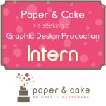 Intern at Paper & Cake